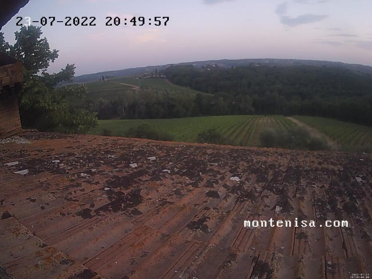 Live images taken from the roof of Monte Nisa - click to enlarge